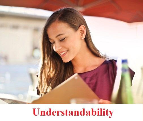 karakteristik laporan keuangan mudah dipahami