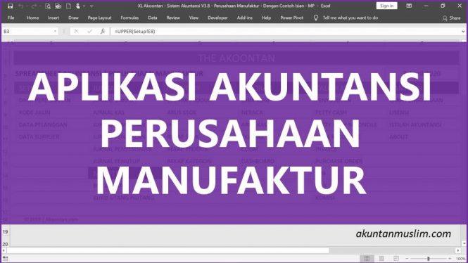 Aplikasi Akuntansi Perusahaan Manufaktur